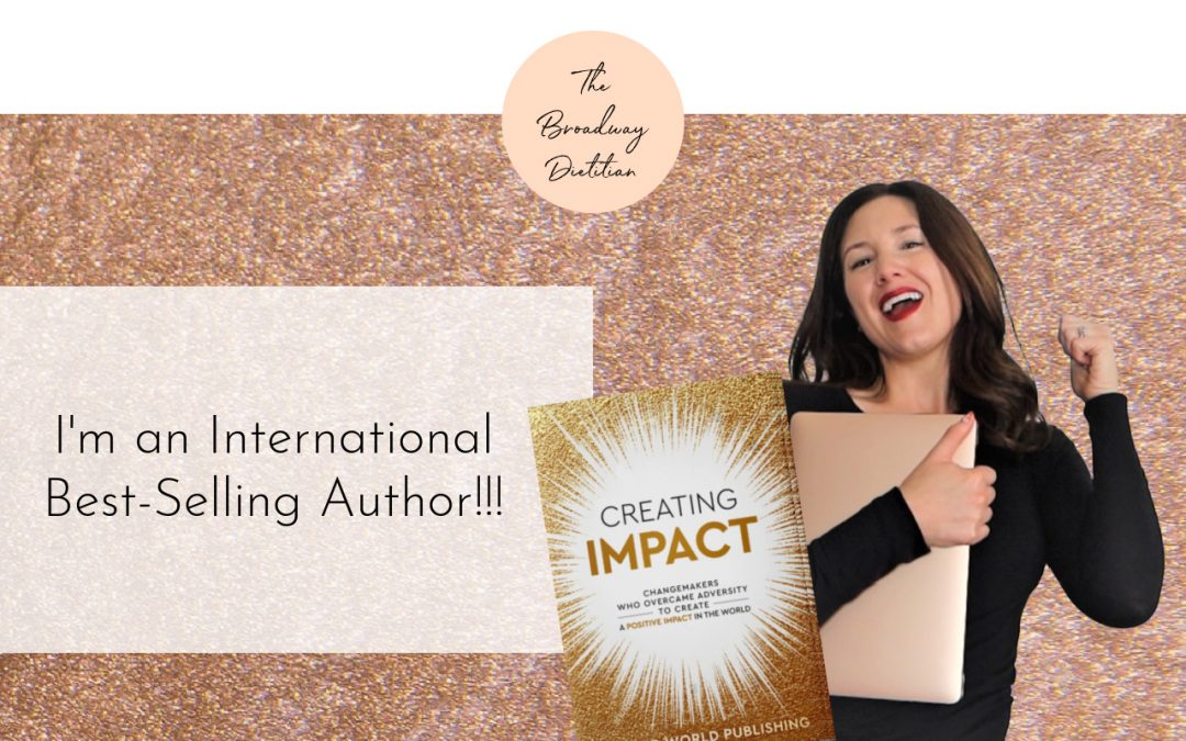 I'm an International Best-Selling Author!